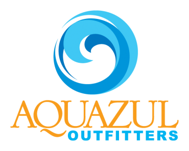 Aquazul Logo Sticker
