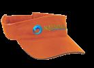 Aquazul-Orange-Visor