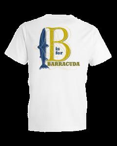 Children's B Is For Barracuda Short Sleeve Tee Shirt
