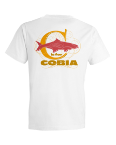 Children's C Is For Cobia Short Sleeve Tee Shirt