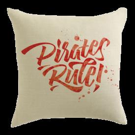 Pirate's Rule! Designer Pillow
