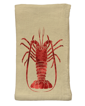 Spiny Lobster Flour Sack Napkins