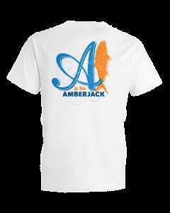 Children's A Is For Amberjack Short Sleeve Tee Shirt