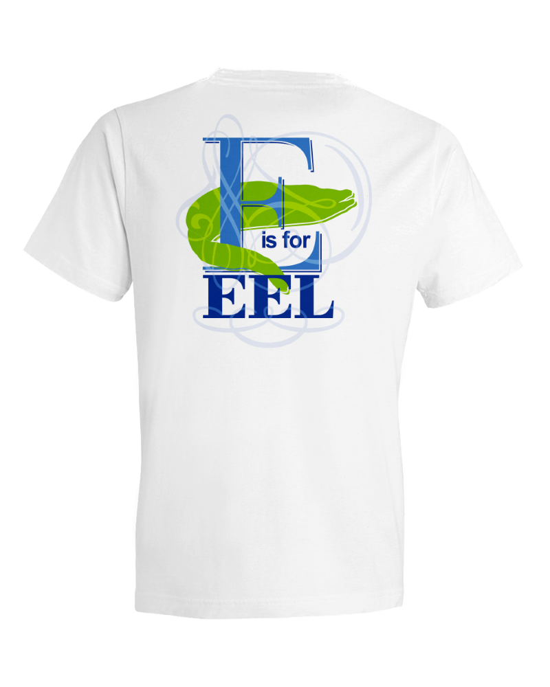 Children's E Is For Eel Short Sleeve Tee Shirt