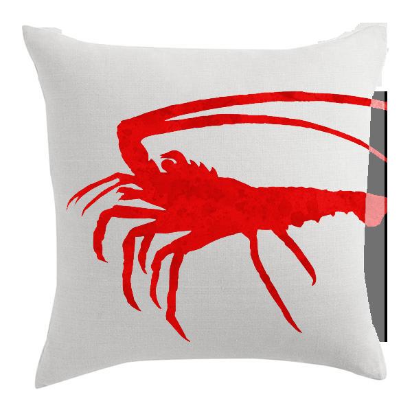 Spiny Lobster Designer Pillow