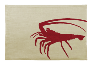 Spiny Lobster Linen Placemat