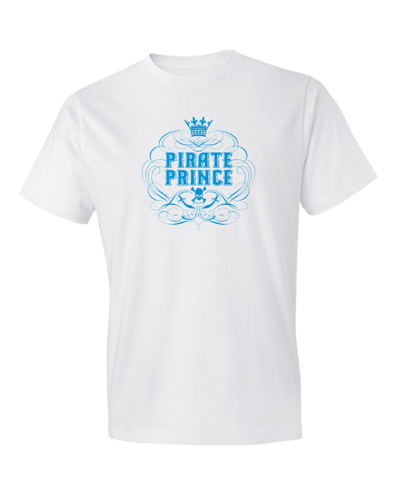 Children's Pirate Prince Short Sleeve Tee Shirt