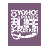 Pirate Saying Note Card Stationery