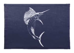 Sailfish Linen Placemat