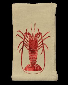 Spiny Lobster Flour Sack Napkins